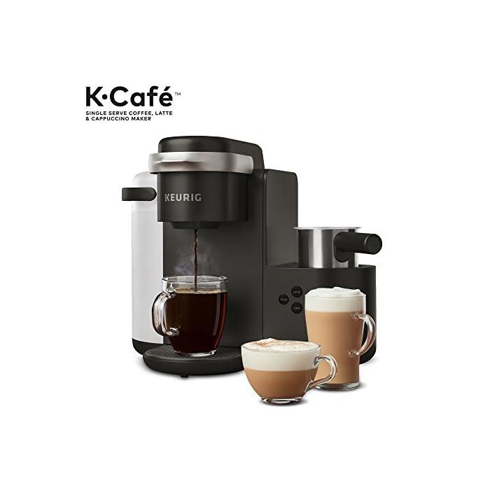 Keurig K Cafe Single Serve K Cup Coffee Maker Latte Maker And