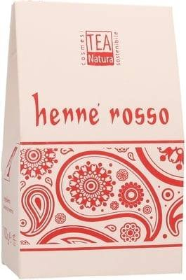 TEA NATURA - Red Henna ''Tiziano'' (Lawsonia Inermis) - Hair colour & care for radiantly red hair - Free from sodium picramates - Cares for the hair & scalp - Covers grey hair - 100 gr