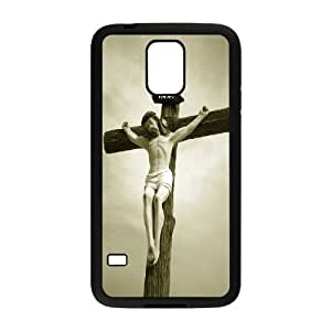 Best Quality [LILYALEX PHONE CASE] Jesus Christ Bless Us For Samsung Galaxy S5 CASE-16