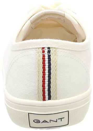 Femme Haven New white Weiß Baskets Gant qBAt7ROxx