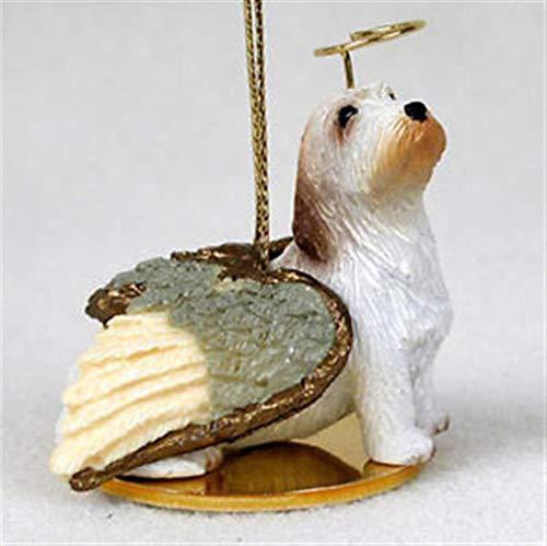 Ky & Co YesKela Petit Basset Griffon Vendeen Ornament Angel Figurine Hand Painted ()