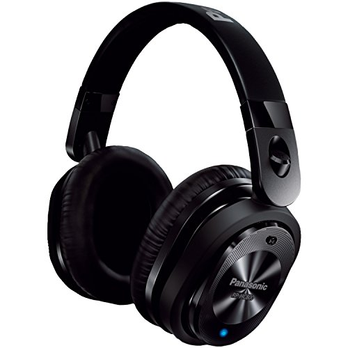 Panasonic Premium Noise Cancelling Over-the-Ear Stereo Headphones with Mic/Controller RP-HC800-K (Black)