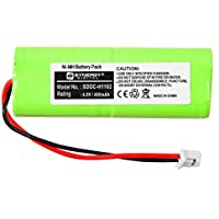 Dogtra BP2T Replacement Battery (Ni-MH, 4.8V, 400 mAh) Battery - Replacement for GP - 28AAAM4SMX, GP - 40AAAM4SMX, Mighty Pets - BP-12, Sanik - 4SN-2/3AAA40H-H-XA1, Interstate - NIC0962 Batteries