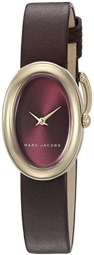 Marc Jacobs Women's Cicely Burgundy Leather watch - MJ1456