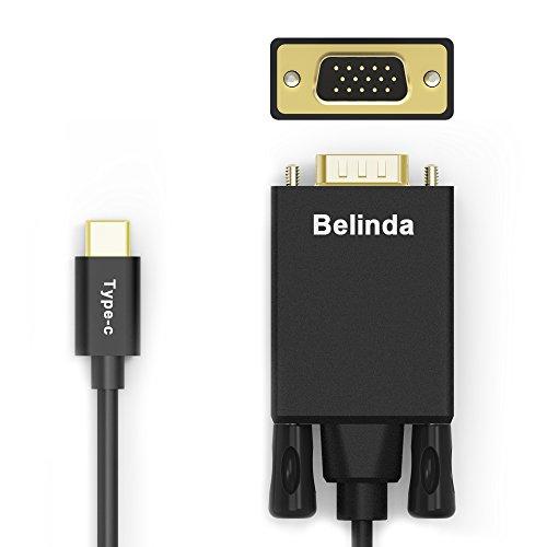 Usb C To Vga Cable Belinda Usb 3 1 Type C Usb C To Vga