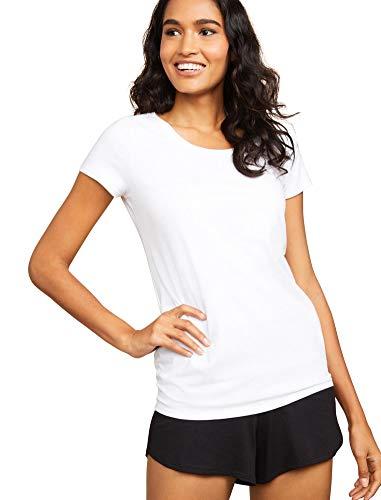 Motherhood Maternity Women's Maternity Relaxed Fit Sleep Knit Shorts, Black, Extra Large