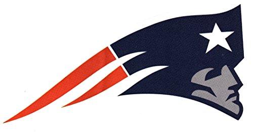 (4 New England Patriots Die Cut Stickers NFL Football Logo Sticker Team Helmet Set Pats )