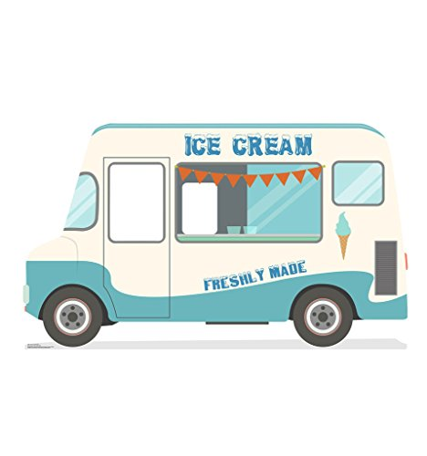 Ice Cream Truck Stand-In - Advanced Graphics Life Size Cardboard Standup -