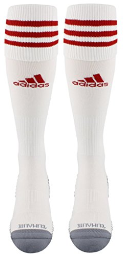 adidas Copa Zone Cushion III Soccer Socks (1-Pack), Red, Medium