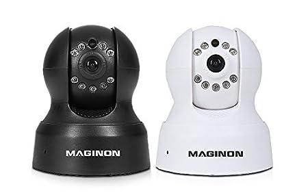/Interior y Exterior Security CAM con Visi/ón Nocturna Maginon de vigilancia IP CAM OD de 2/ Resistente a la Intemperie Carcasa