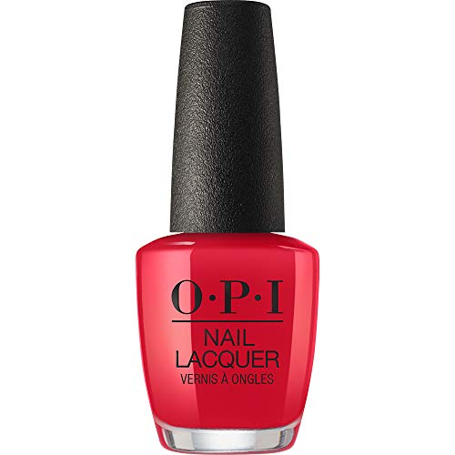 OPI Nail Lacquer, Red Heads Ahead, 0.5 Fl Oz