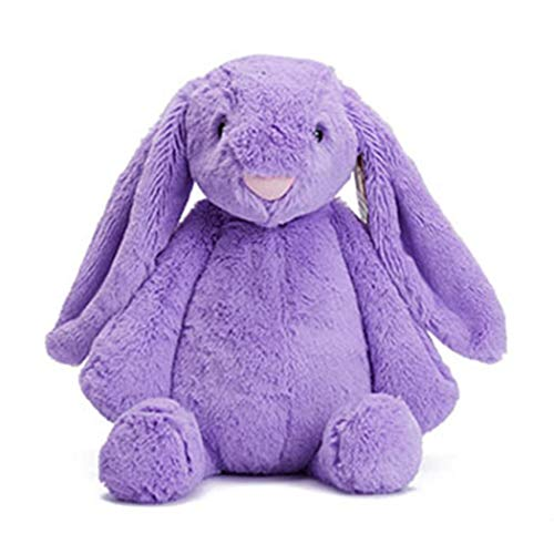 Qenci Cute Rabbit Doll Plush Toy, Kids Sleeping Soft Toy Gifts Stuffed Animal Teddy Bears