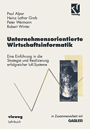 Unternehmensorientiere Wirtschaftsinformatik.