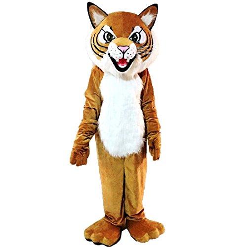 Tiger Wild Cat Mascot Costume Character -