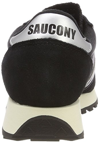 Saucony Men's Jazz Original Vintage Trainers Black (Black/White 10) oP9WmdE0W