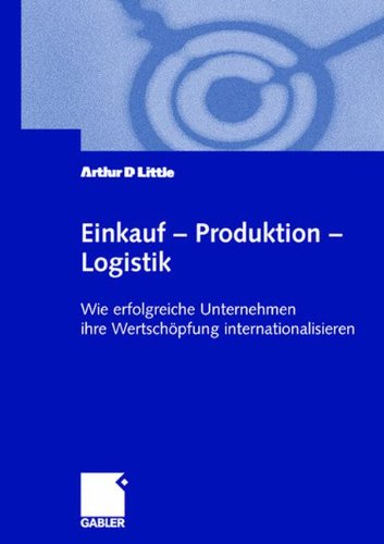 Einkauf ― Produktion ― Logistik: Wie erfolgreiche Unternehmen ihre Wertschöpfung internationalisieren