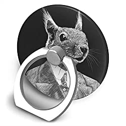 Dorothy Handsome Rabbit Cell Phone Ring Holder Universal Smartphone Ring Grip Stand Car Mount 360 Rotation for iPhone, IPad, Samsung, HTC, Google Pixel, Nokia, LG