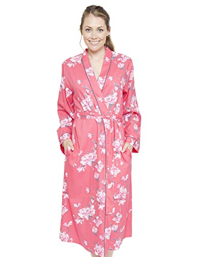 Bath Gown Print Loungewear Cyberjammies Robe Dressing Pink Kimono Chloe Floral Women's 4076 Xxzq0w6