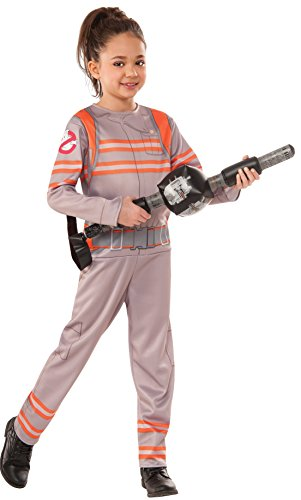 [Rubie's Costume Ghostbusters Movie Child Value Costume, Medium] (Ghostbuster Costume Backpack)