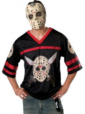 Jason Hockey Jersey and Mask Costume - X-Large - Chest Size 44-46]()
