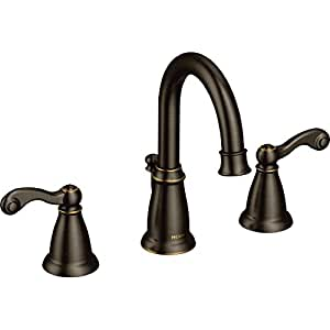 Traditional 2h Ws Brb Mediterranean Bronze Two Handle Bathroom Faucet