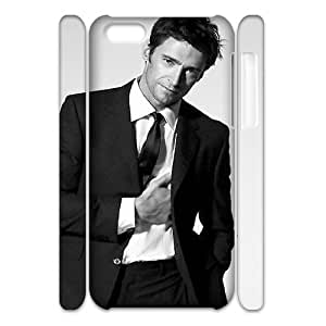 ZK-SXH - Hugh Jackman Brand New Durable 3D Cover Case Cover for iPhone 5C,Hugh Jackman Cheap 3D Cell Phone Case