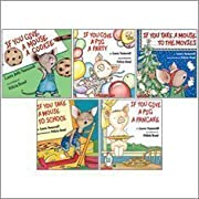 If You Give a . . . Set of 5 Books: If You Give a Mouse a Cookie, If You Take a Mouse to the Movies, If You Take a Mouse to School, If You Give a Pig a Party, and If You Give a Pig a Pancake (5-Book Set)