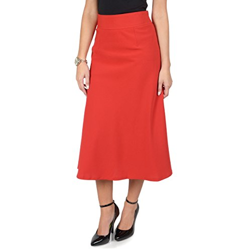 Hailey Jeans Co Womens A-line High Waist Banded Skirt