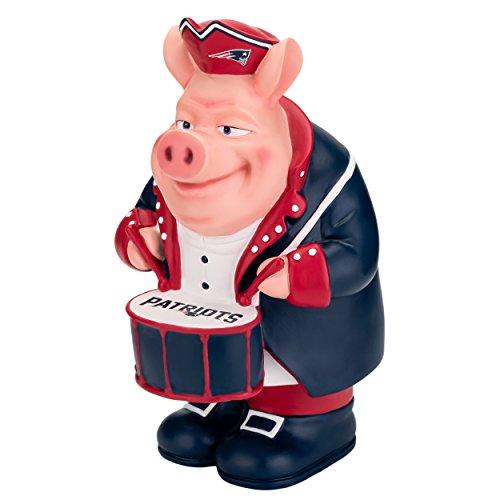 FOCO NFL New England Patriots Caricature Piggy Bank, Team Color, OS