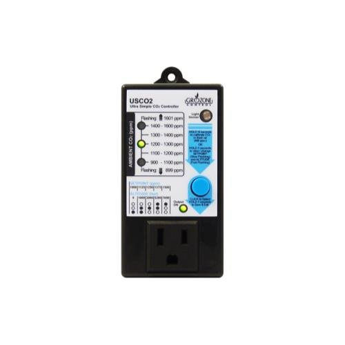 Grozone Control USCO2 0-2000 PPM Single Zone Ultra Simple CO2 Controller