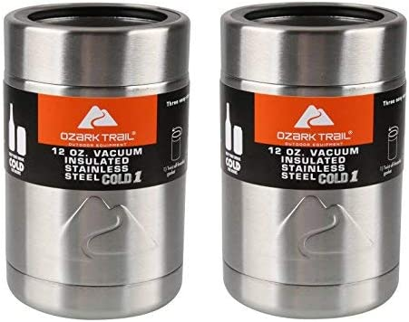 Set of 2 Ozark Trail 12 Ounce Double Wall Can Cooler Cup