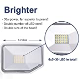 AIDEL 30W LED Security Lights Outdoor, Switch