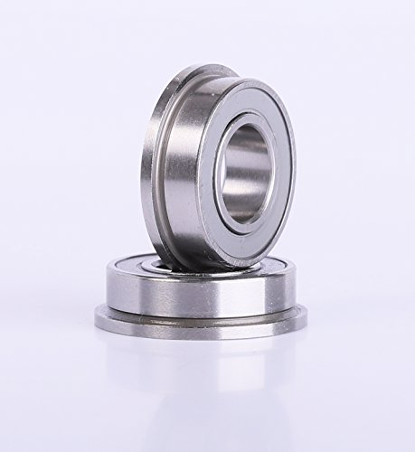 8X16x5MM Flanged Ceramic Ball Bearings 2 pieces MF688 Bearing by ACER ()
