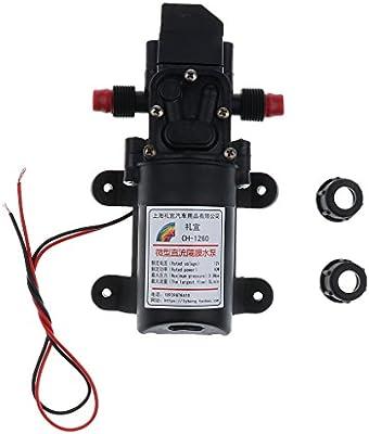 12V High Pressure Auto Diaphragm Water Pump 5L/min 100 PSI