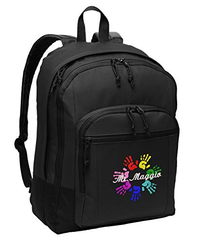 Hands in Circle Personalized Embroidered Backpack by Simply Custom Life
