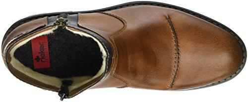 Rieker Herren 32153 Kurzschaft Stiefel Braun (marron/rauch/mogano / 26)