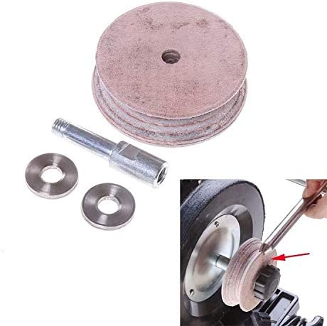 DIY Tools Side Wheel Grinding Jig Support Arm Extension for Wheel Grinding Machine Knife Sharpener Accessory (Color : Side Processing jig) Cowhide Wheel
