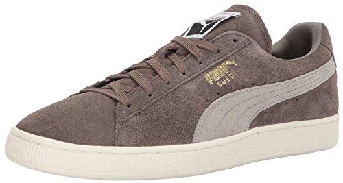 Puma Mænds Ruskind Klassisk + Mode Sneaker Falk-rock Højderyg LQbQi3K