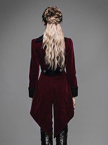 Devil Fashion Long Winter Jacket Outerwear
