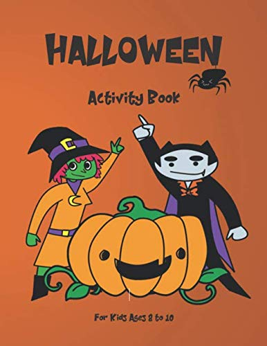 Halloween Worksheets For 5th Grade (Halloween Activity Book for Kids: Ages)
