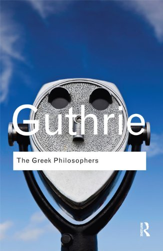 The Greek Philosophers: from Thales to Aristotle (Routledge Classics) por W. K. C. Guthrie
