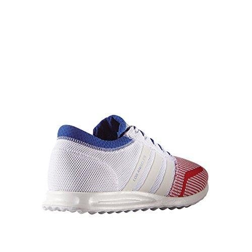 adidas Los Angeles, Scarpe da Ginnastica Uomo Bianco/Blu/Rosso