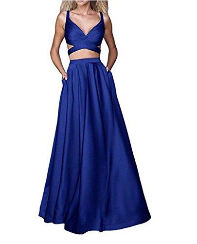 Leader of the Beauty - Vestido - para mujer azul real