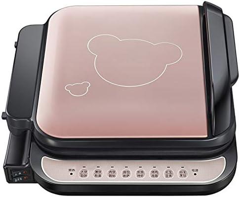 Plaque de cuisson électrique 220v Ménage Électrique Crêpe Crêpe Fabricant Machine Antiadhésive Petit Déjeuner Machine Multifonctionnel Barbecue Barbecue