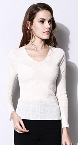 Lixmee - Jerséi - para mujer blanco