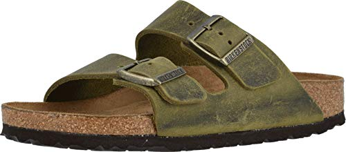 Birkenstock Women's Arizona Soft Footbed Oiled Leather Sandal (40 Regular EU, - Arizona Sandal Womens