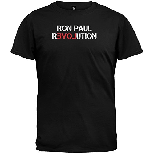 Ron Paul - Revolution T-Shirt (Paul Ron Revolution T-shirt)