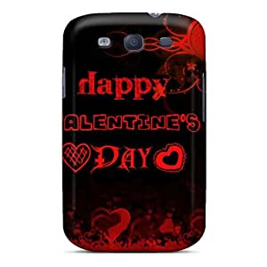 New Premium Flip Cases Covers Happy Valentine Day Skin Cases For Galaxy S3 Black Friday
