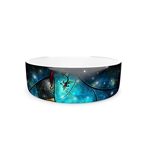 7\ Kess InHouse Mandie Manzano Nutcracker  Pet Bowl, 7