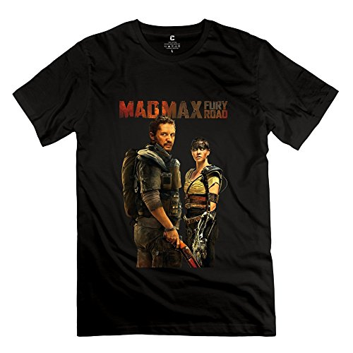 Thunderdome Mad Beyond Costumes Max (AOPO Mad Max 4 Fury Road O-Neck T-shirts For Men Medium)